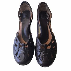 Sofft Brown Leather Heels 8.5